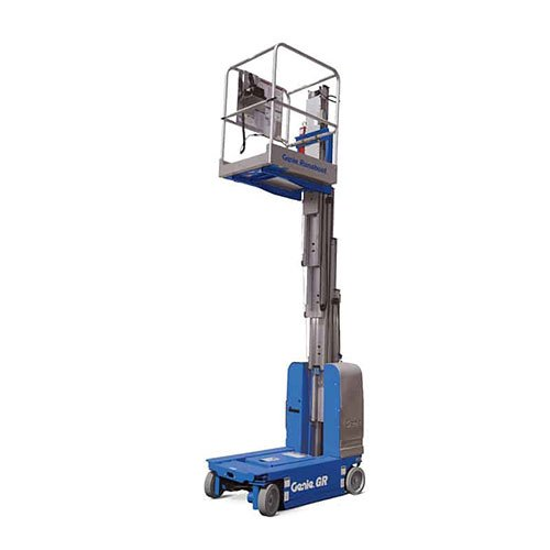 Genie Runabout GR-12 personnel lift rental by US Aerials & Equipment Rental