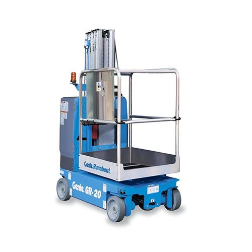 Genie Runabout GR-20 personnel lift rental by US Aerials & Equipment Rental