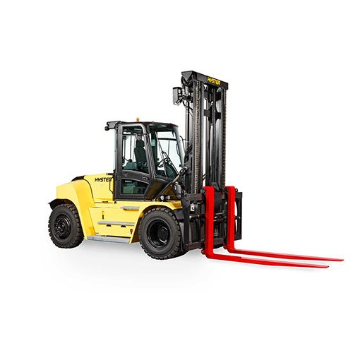 Hyster H230HD2 industrial forklift rental by US Aerials & Equipment Rental