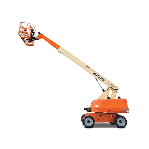 JLG 600S telescopic boom lift rental by US Aerials & Equipment Rental
