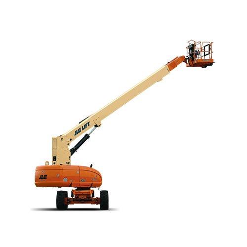JLG 800S telescopic boom lift rental by US Aerials & Equipment Rental