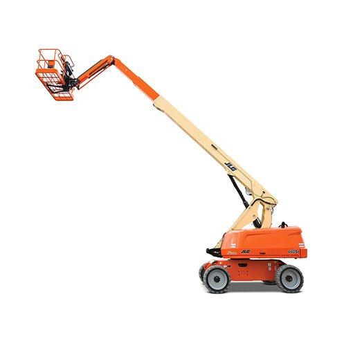 JLG 660SJ telescopic boom lift rental by US Aerials & Equipment Rental