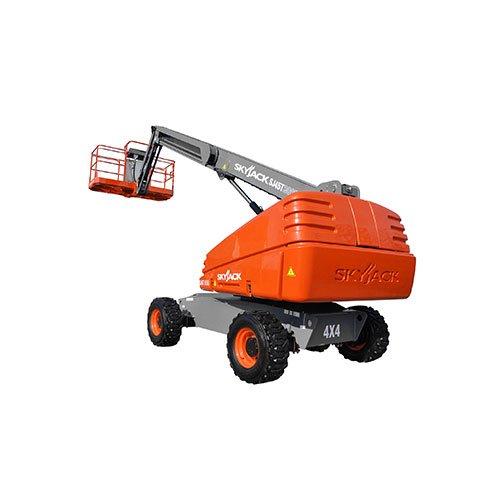 Skyjack SJ66T telescopic boom lift rental by US Aerials & Equipment Rental