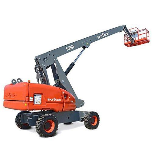 Skyjack SJ86T Telescopic boom lift rental by US Aerials & Equipment Rental