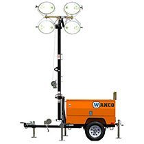 Light tower rental by US Aerials & Equipment Rental